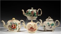 Excellent selection of creamware articles