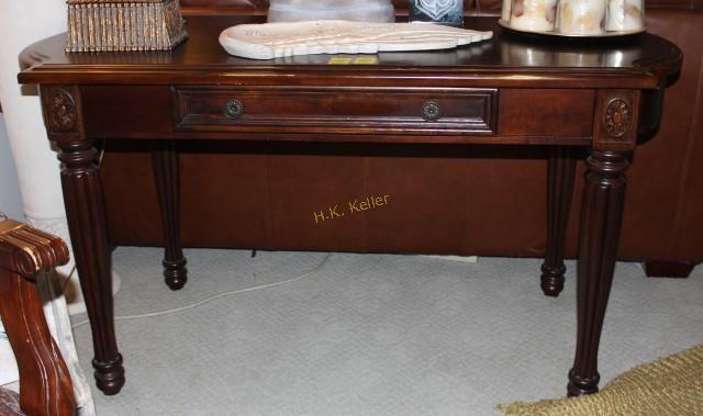 Broyhill Wooden Desk Or Sofa Table H K Keller