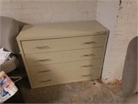 (1) 4-Drawer Metal Cabinet $25.00 Reserve