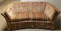 (12) Curved Loveseat  $45.00 Reserve