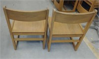 (23D) 6 Wood Chairs  $30.00 Reserve