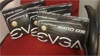 (34) EVGA 8400 GS Graphic Card  $25.00 Reserve
