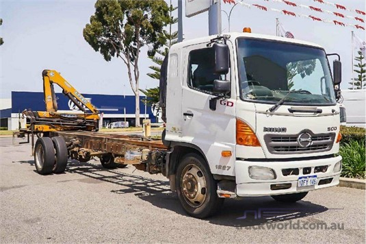2009 Hino 500 Series WA Hino - Trucks for Sale