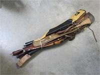 Lot, 8 soft gun cases