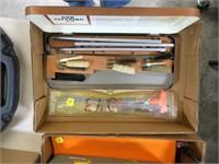 Lot, cleaning kit plus rod