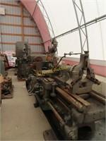Lodge & Shipley 16 in swing metal lathe,