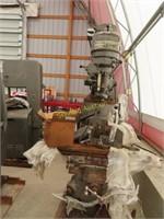 Bridgeport milling machine, serial number J -