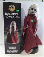 Spirit roaming animated antique doll, does work