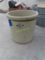 3 gallon crock with cracks