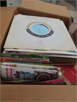 box of Records large assortment