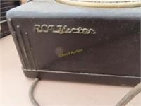 antique Radio blonder - tongue, antique 45 player