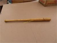antique children's St Louis Cardinal baseball bat