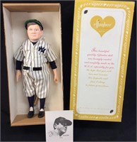 EFFANBEE BABE RUTH DOLL IN BOX,  MODEL #7651