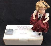 DANBURY MINT ''CURLY TOP'' SHIRLEY TEMPLE DOLL
