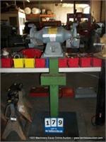 BALDOR 8100W GRINDER & BUFFER, 3/4HP, 1 PHASE