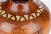 Art Bob Boomer Native American Wood Sculpture