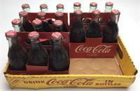(3) 1923 REPRODUCTION COKE 6 PACKS, BOTTLES ARE