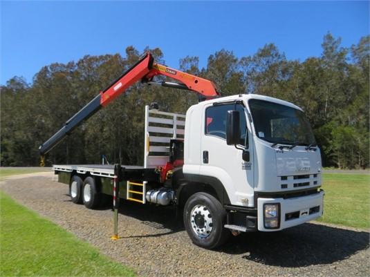 2009 Isuzu FVZ 1400 Auto - Trucks for Sale