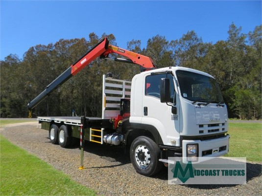 2009 Isuzu FVZ 1400 Auto Midcoast Trucks - Trucks for Sale