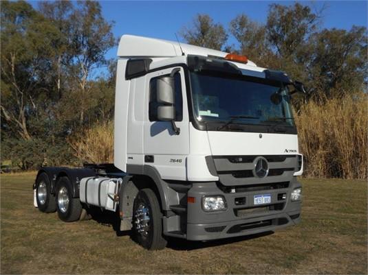 2015 Mercedes Benz Actros 2646 - Trucks for Sale