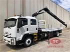 2010 Isuzu FTR 900 Long Crane Truck
