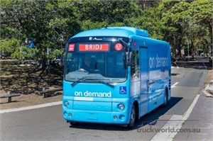 Hino Australia Demos On-Demand Commuter Abilities Of Poncho Bus Model At BusVic Bus Expo & Maintenance Conference