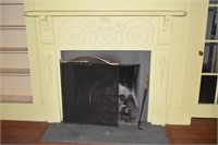 Large Ornate Fire Places