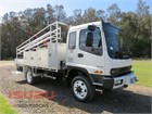 2006 Isuzu FSS 550 4x4 Service Vehicle