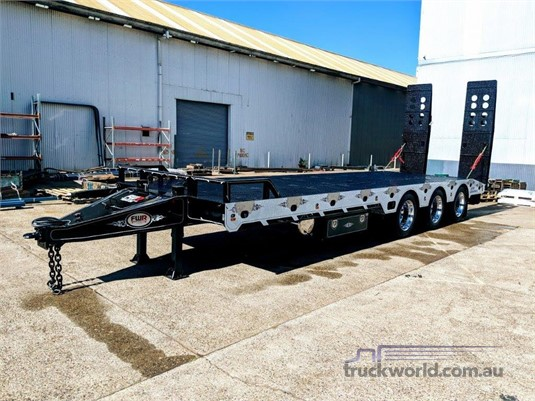 2020 FWR Elite Tri Axle Tag Trailer - Deck Widener - Trailers for Sale