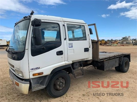 2001 Isuzu FRR 550 Crew Used Isuzu Trucks - Trucks for Sale