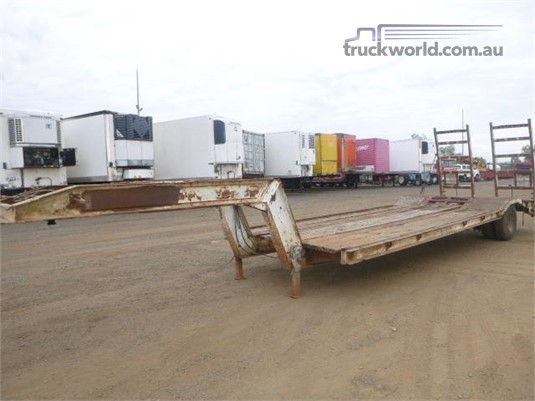 1988 Lusty Low Loader Trailer - Trailers for Sale