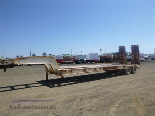 1985 Lusty Low Loader Trailer - Trailers for Sale