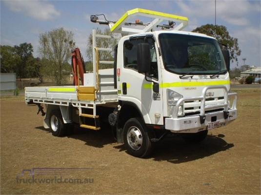 2011 Isuzu NPS 300 4x4 Black Truck Sales  - Trucks for Sale