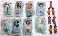 8 Madame Alexander Mcdonalds Dolls,