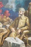 Vojislav Stameni: Dragoljub Mihailovich Portrait