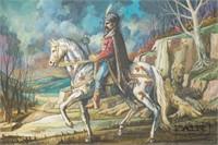 Prince Marko Kraljevich of Serbia Portrait