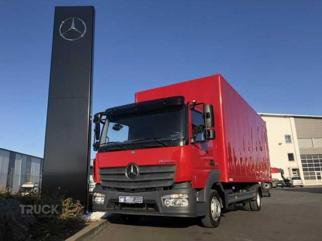 Mercedes Benz ATEGO 816 Box Truck Used by TBSI