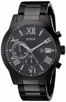 GUESS Men's Stainless Steel Casual Watch, Black