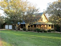 Log Home on 30.1 Acres