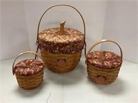 3 Pumpkin baskets