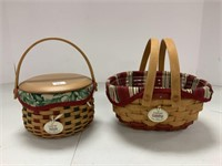 7 Tree Trimming baskets: 1999 to 2004 editions,