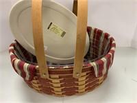 2 Christmas baskets