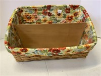 Magazine basket with Personal Solutions