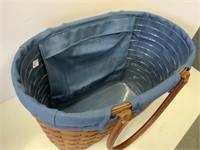 Large boardwalk basket.