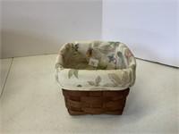 3 dark stain baskets