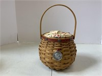 5 miniature May series baskets and