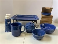 Cornflower pottery lot