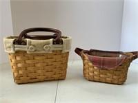 4 smaller baskets including small boardwalk.