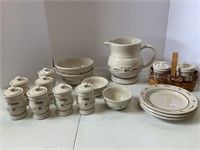 Traditional red pottery lot