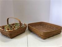 Gathering basket, paper tray